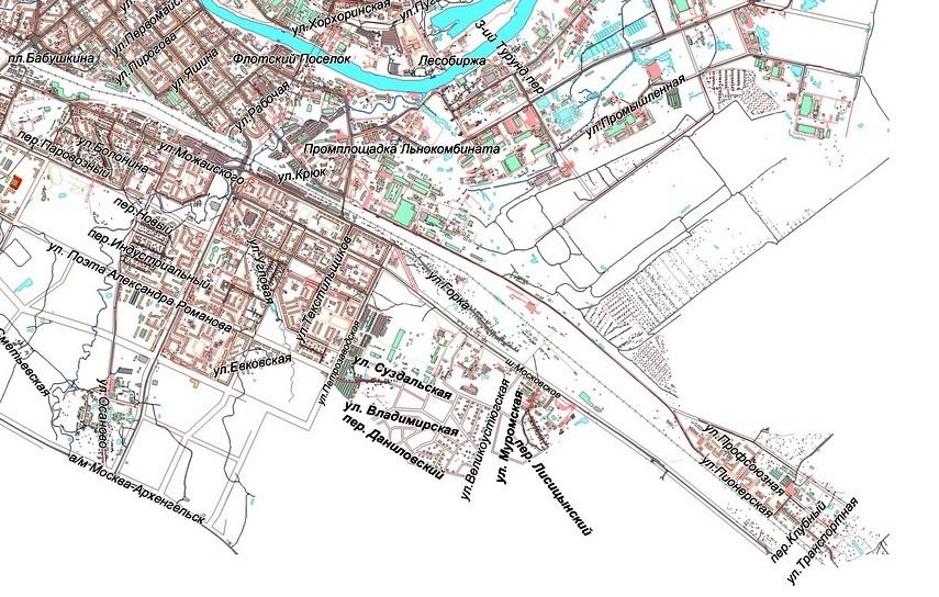 За последние два года в Вологде появились 32 новые улицы