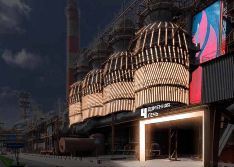 Череповецкий металлургический комбинат заказал новые дизайны фасадов своих зданий в студии Артемия Лебедева