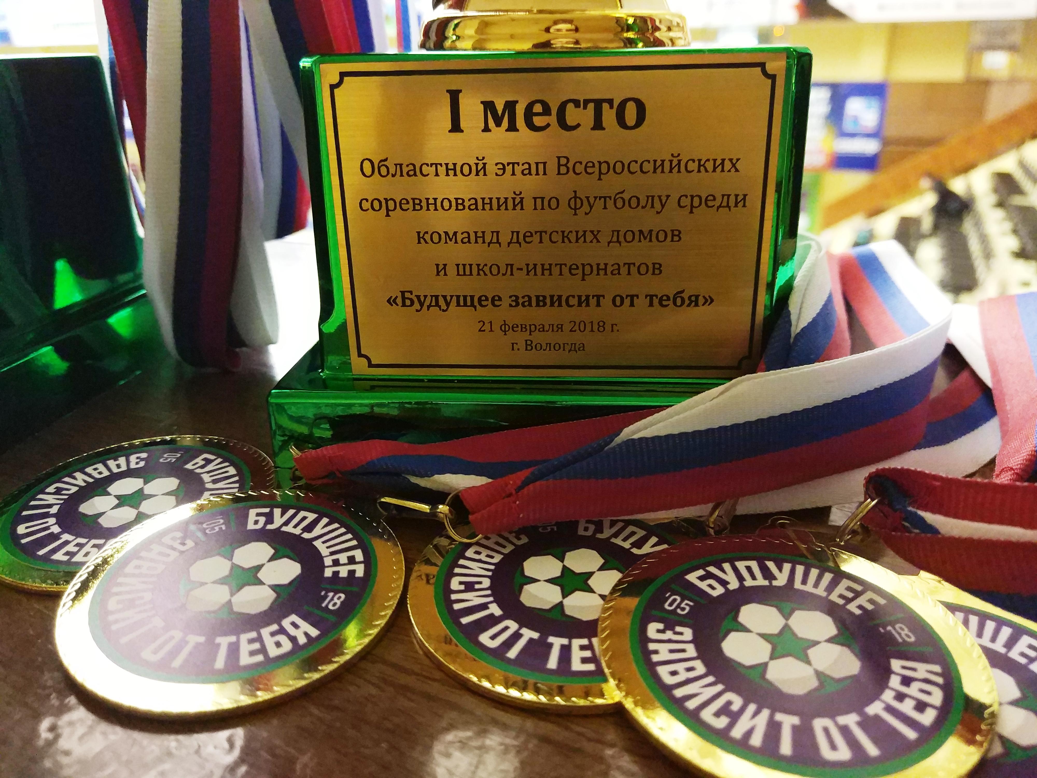 Юные футболисты из Вологды поедут в Петербург