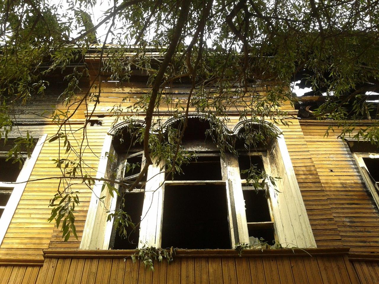 В Вологде снесли еще один исторический деревянный дом