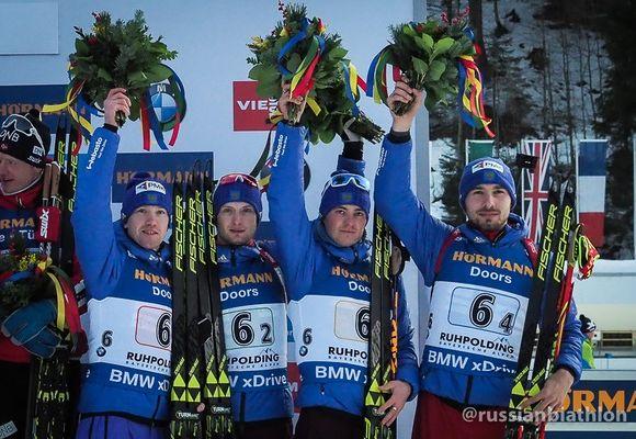 Вологжанин Максим Цветков стал призером Кубка мира по биатлону