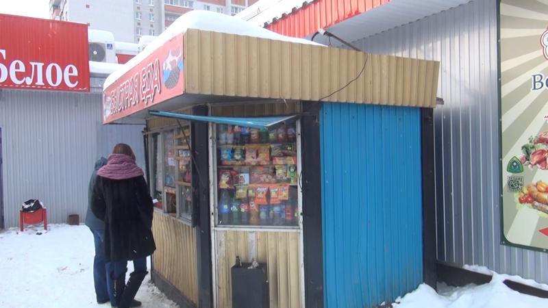 В Вологде демонтировали три ларька, в которых незаконно торговали алкоголем
