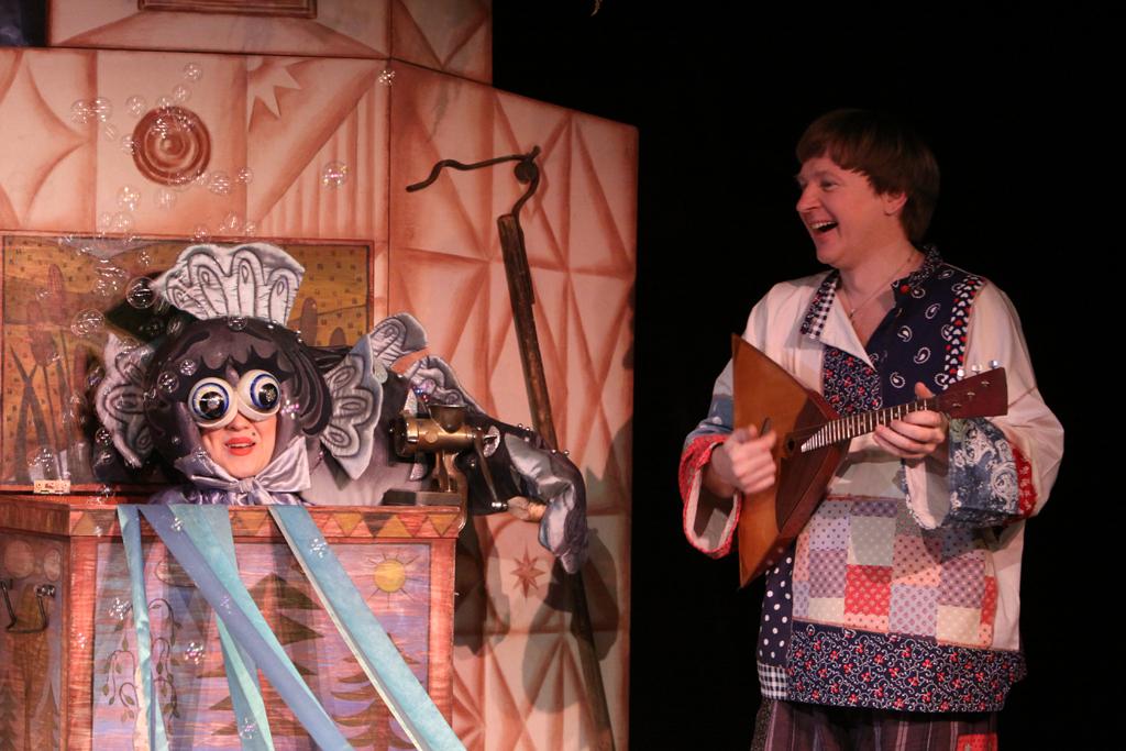 Московский театр кукол покажет три спектакля в Вологде