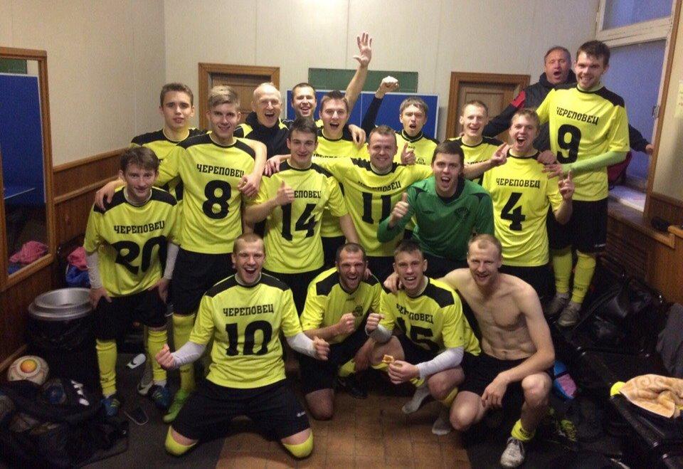 Футбольный клуб «Череповец» впервые стал чемпионом Первенства МФФ «Золотое кольцо»