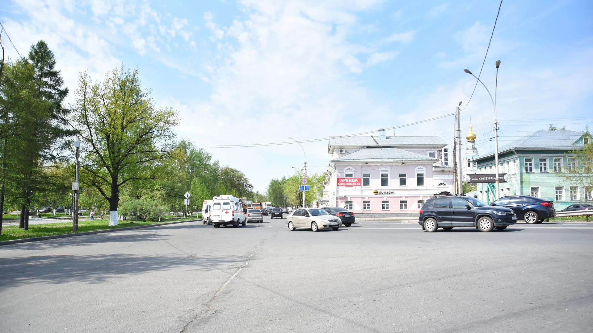 В Вологде расширят участок проспекта Победы от улицы Батюшкова до Торговой площади