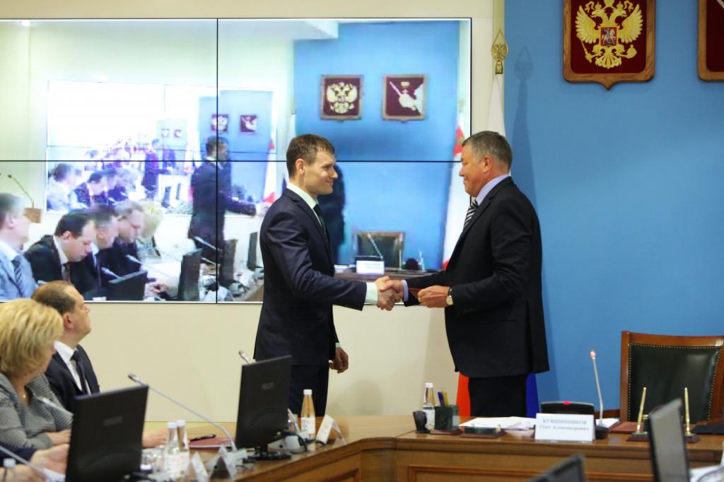 Департамент дорожного хозяйства Вологодской области возглавил Андрей Накрошаев
