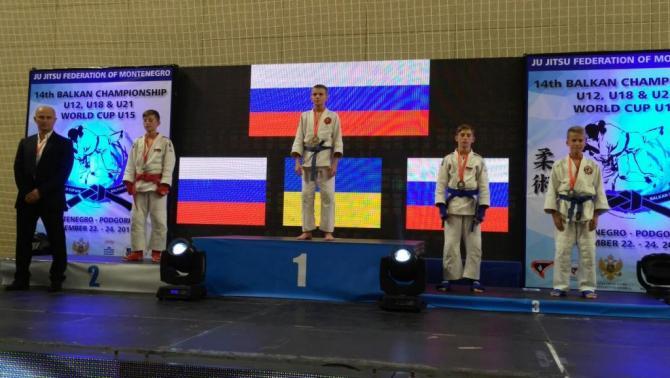 Вологодский школьник стал чемпионом мира по джиу-джитсу