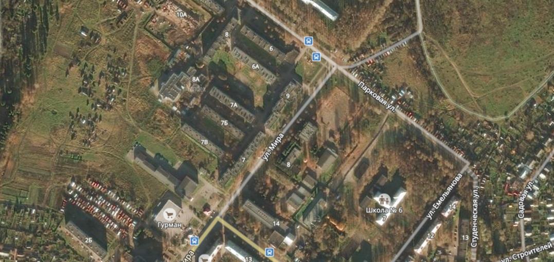 В Молочном изменятся правила проезда перекрестка улиц Мира и Парковой