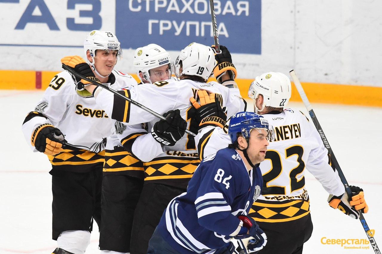 «Северсталь» одержала две победы в Регулярном чемпионате КХЛ