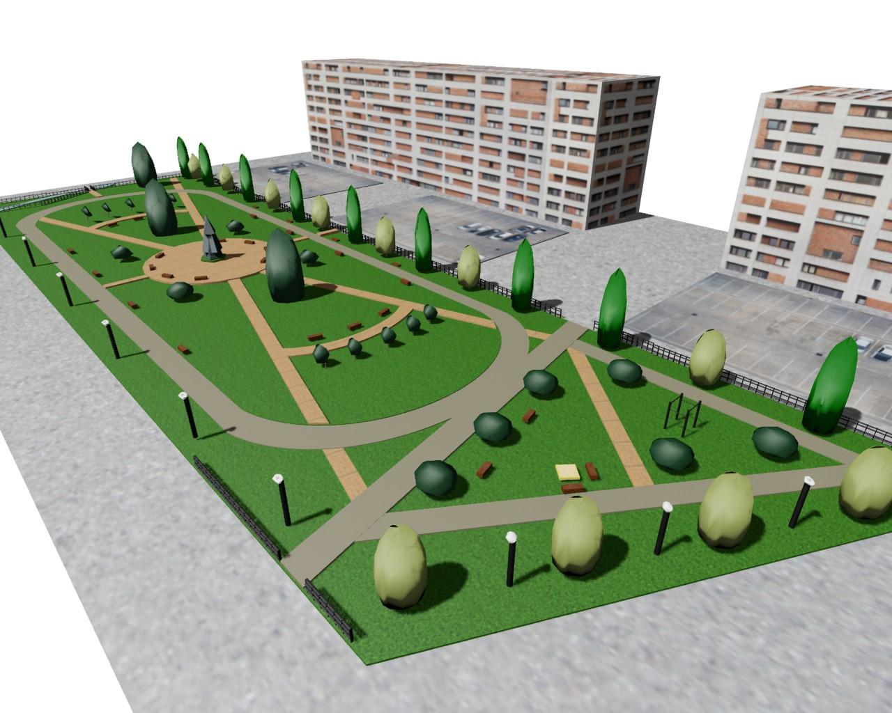 В Вологде утвердили проекты сквера и двух детских площадок