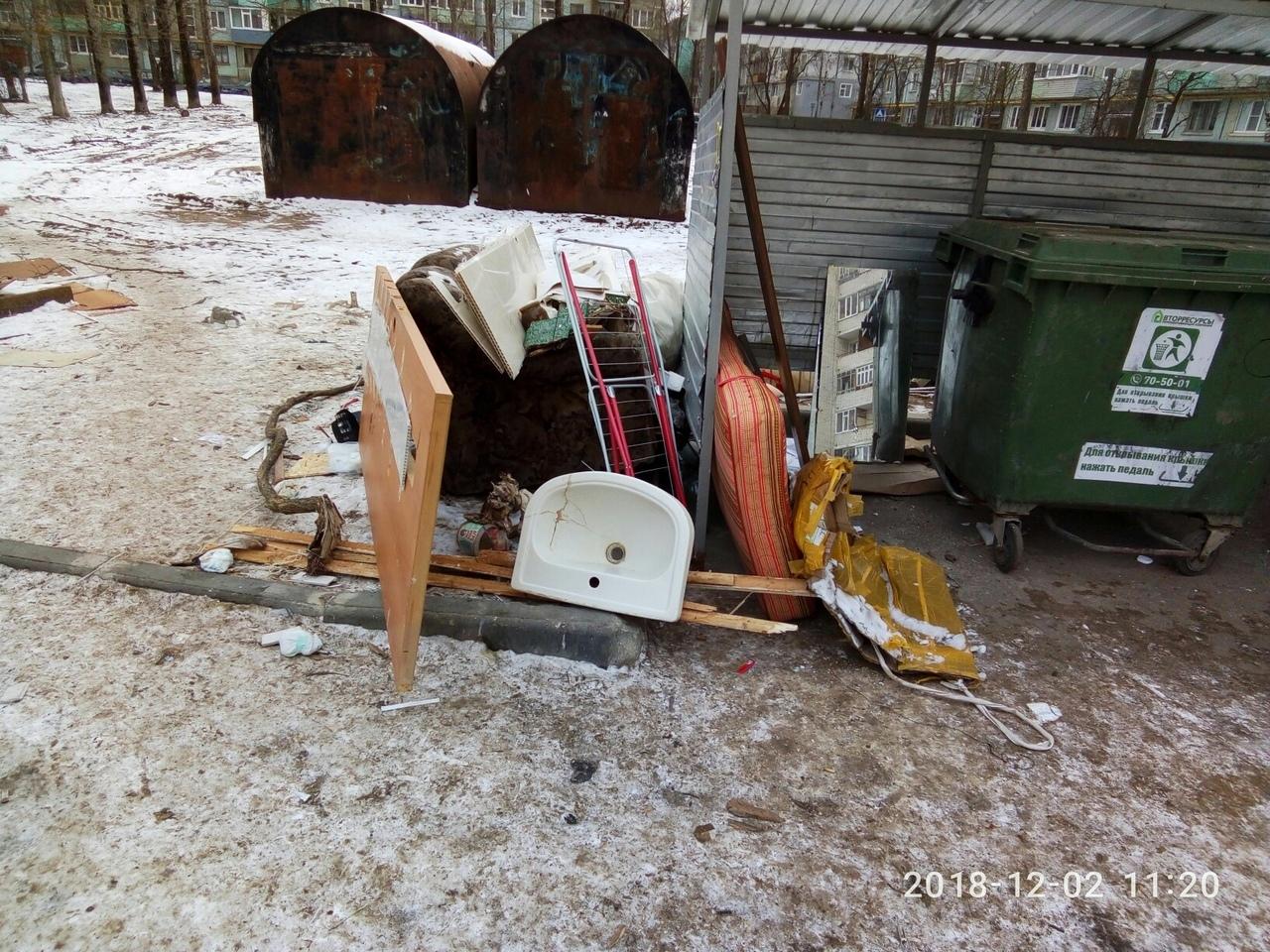 С 1 января 2019 года тариф за вывоз мусора в Вологодской области может составить 140 рублей с человека