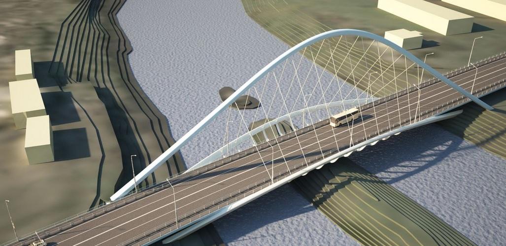 Мэр Вологды сказал, что в четырех полосах на Некрасовском мосту пока нет необходимости