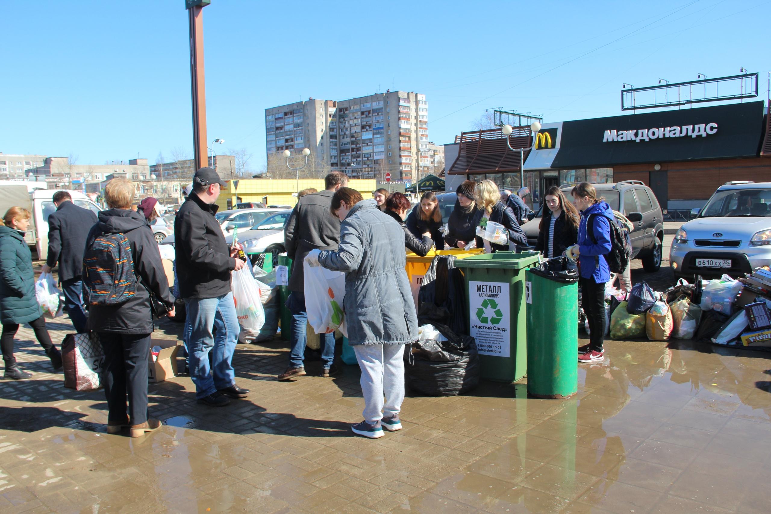 31 килограмм мусора в месяц на семью: в Череповце провели эксперимент по накоплению ТКО