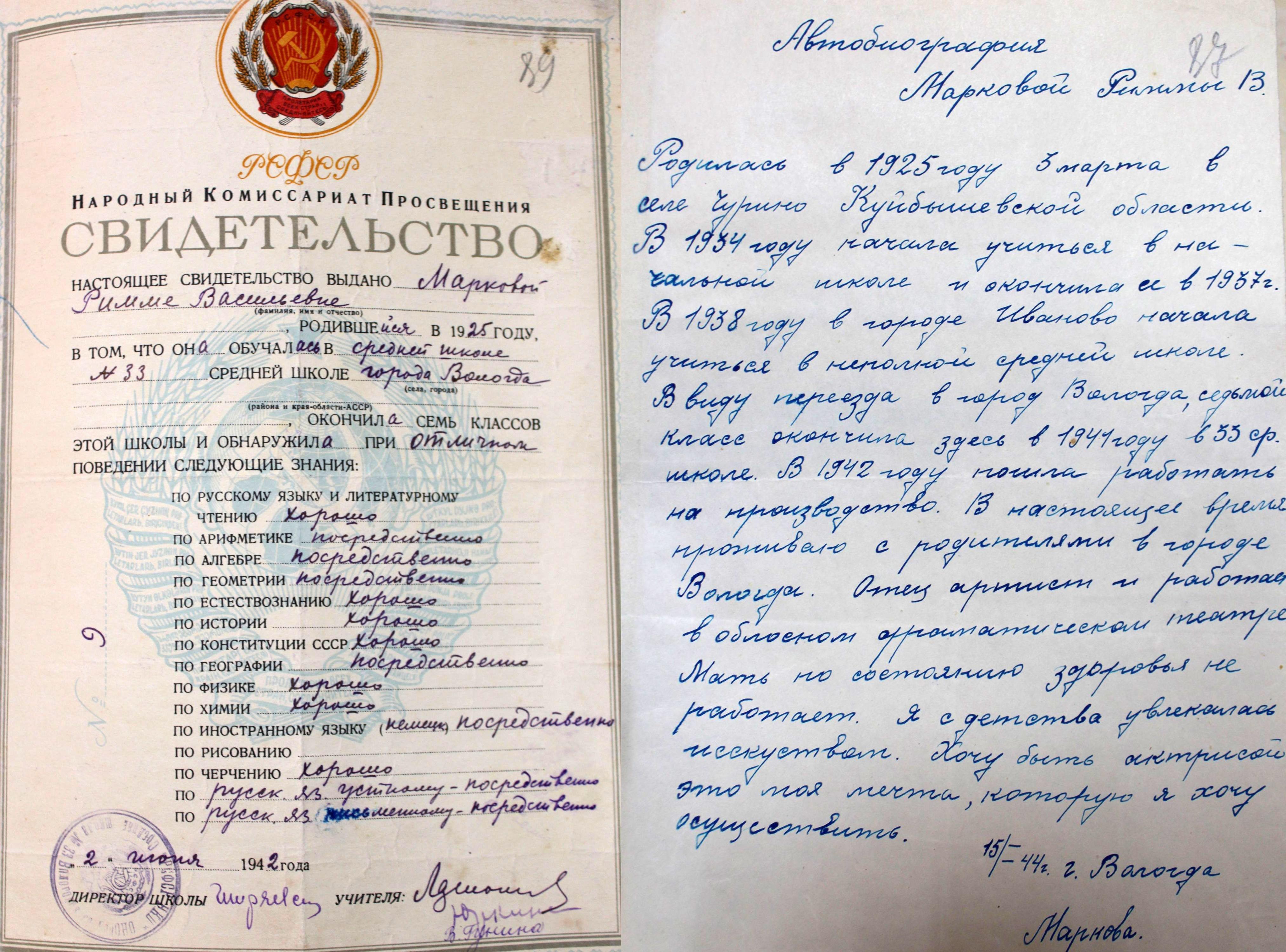 Выставка архивных документов, посвященных театральному делу, открылась в Вологде