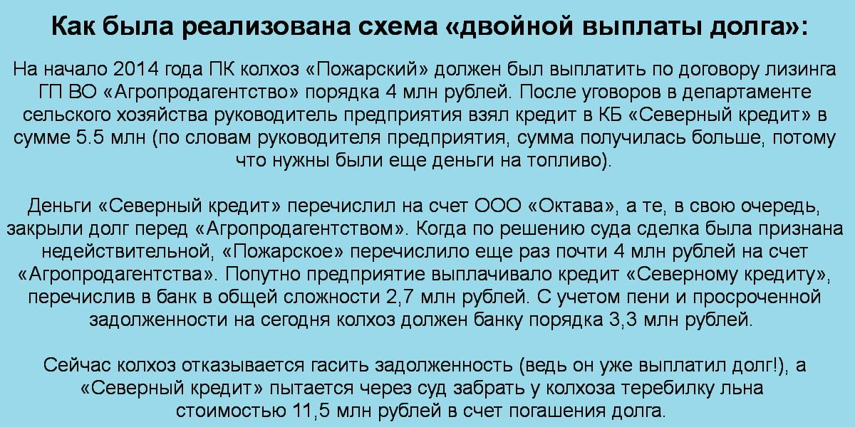 Авантюрные обязательства: как власти разорили сельхозпроизводителей в Вологодской области