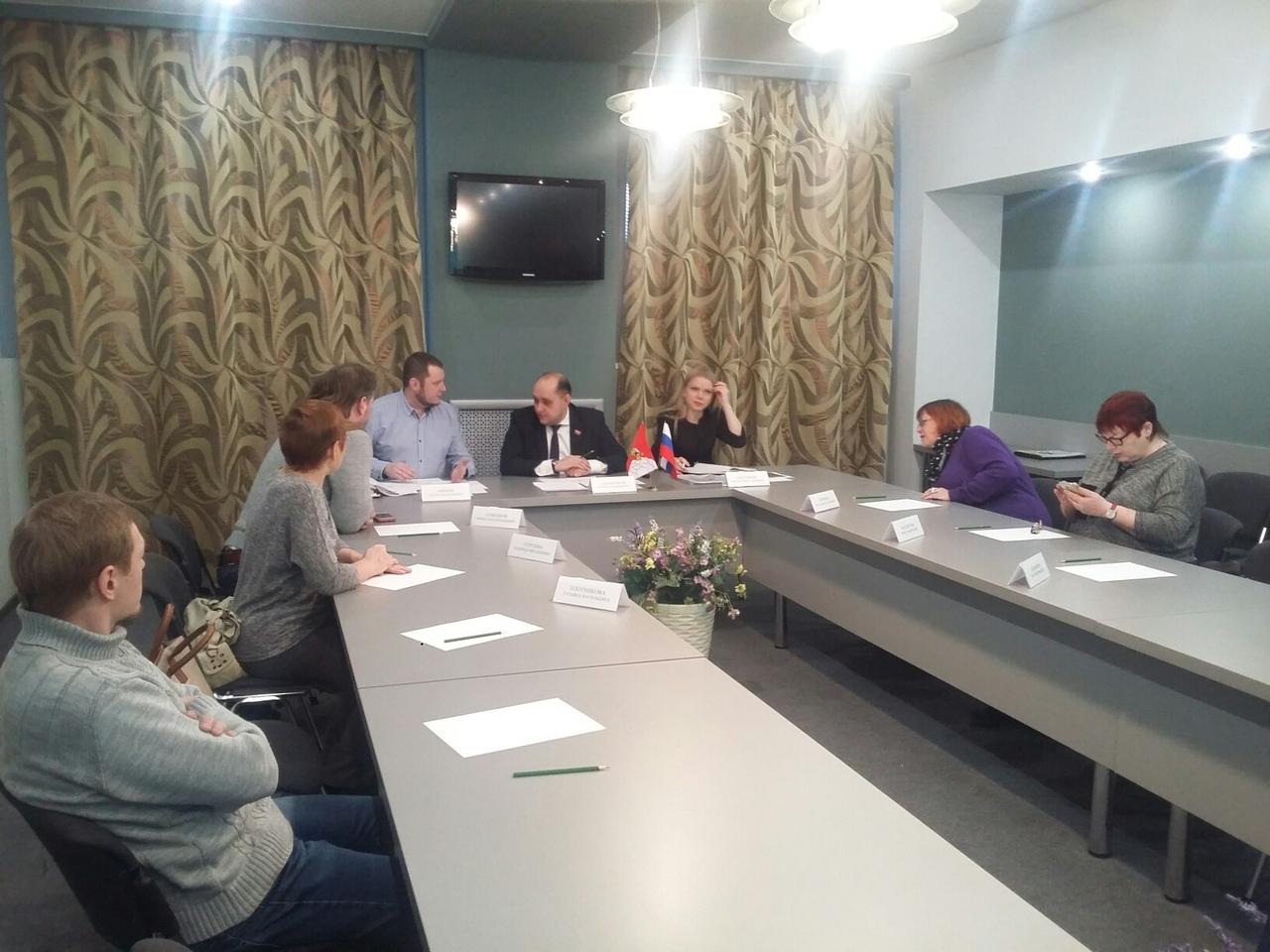В Вологде ТОСы совершенствуют проекты благоустройства территорий в рамках «Народного бюджета»