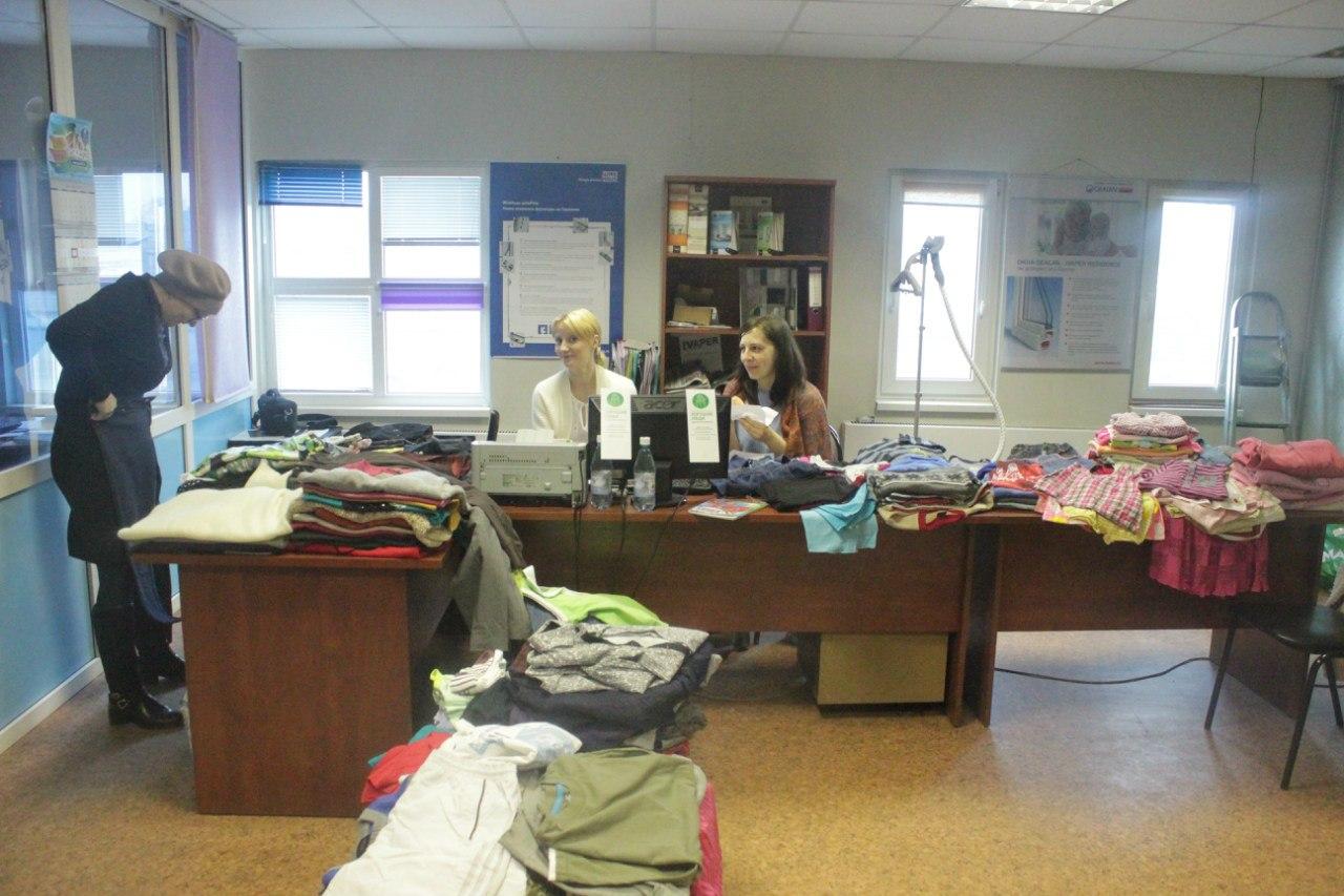 Полезная барахолка: куда в Вологде сдать одежду и обувь в помощь нуждающимся