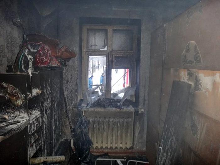 В Череповце подросток поджег квартиру после ссоры с матерью