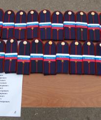 Первые офицерские погоны получили 233 курсанта ВИПЭ