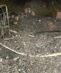 При пожаре под Вологдой погиб инвалид: накануне он был пьян