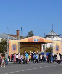 На «Вологодской ярмарке» было продано товаров на сумму более 10 миллионов рублей