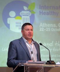 Вологодский губернатор рассказал в Греции о работе программы «Здоровые города»
