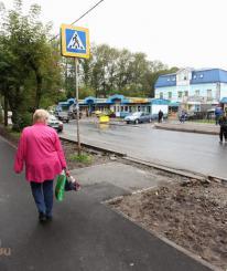 В Череповце отремонтировали 13,5 тысяч квадратных метров тротуаров