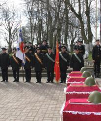 В Севастополе перезахоронят останки советских воинов
