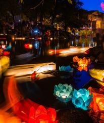 Фестиваль водных фонариков пройдет в Вологде