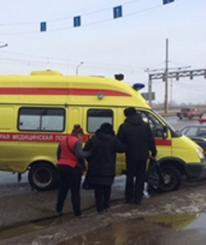 В Череповце столкнулись автобусы: есть пострадавшие