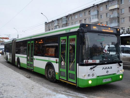 Ночью 1 января проезд в общественном траспорте Вологды подорожает до 40 рублей