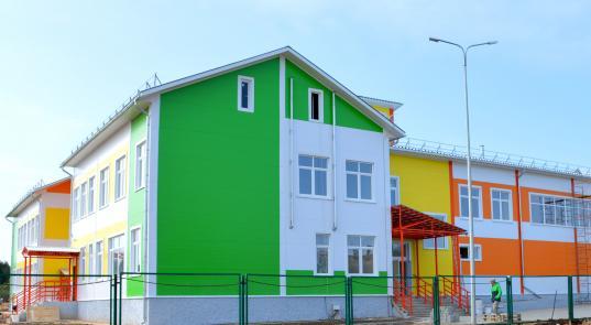 Школу в поселке Косково Кичменгско-Городецкого района открыли в ноябре вместо сентября