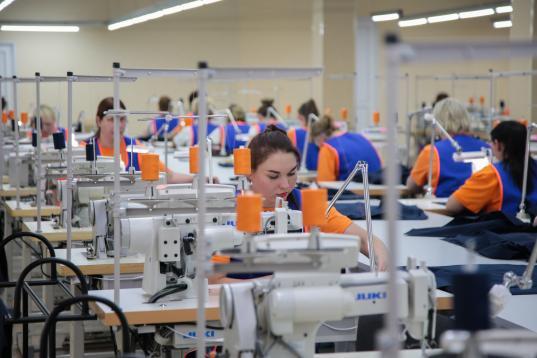 Вологодский текстильный комбинат закупил новые красильные машины