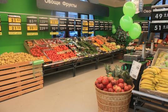 В Вологде открылся первый супермаркет сети «Перекресток»