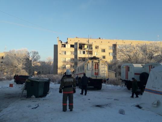 Пострадавший от взрыва подъезд пятиэтажки на улице Карла Маркса в Вологде подлежит восстановлению