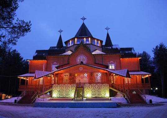 Сроки строительства нового дворца Деда Мороза в Великом Устюге сдвинулись