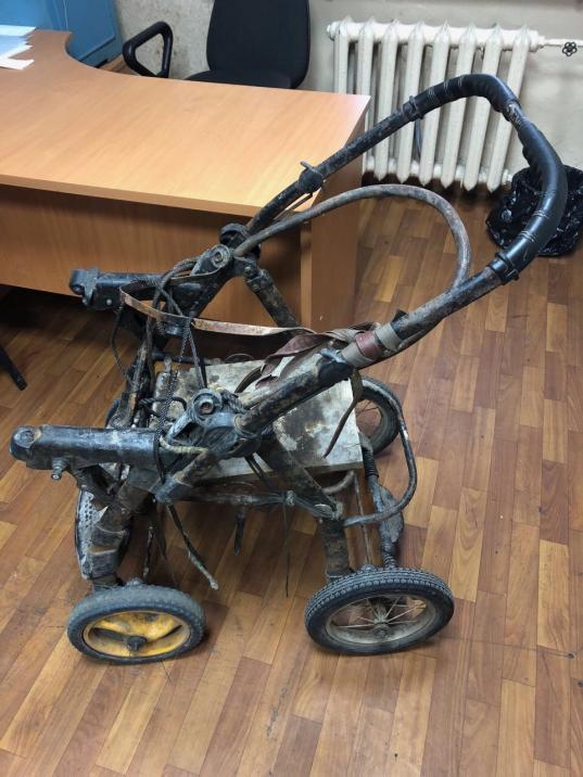 В Череповецком районе задержали мужчину, который вез в детской коляске два украденных аккумулятора