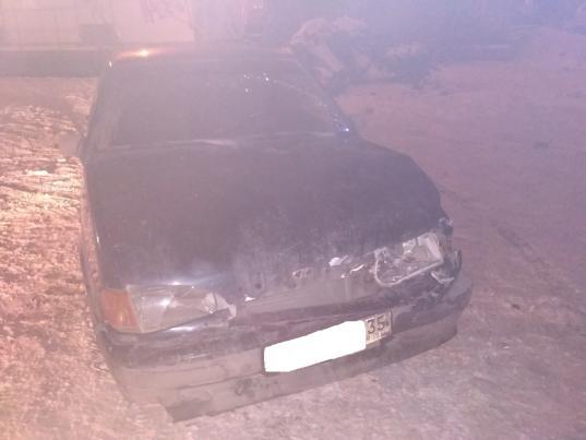 Пьяный вологжанин врезался в магазин, проверяя свое авто на устойчивость