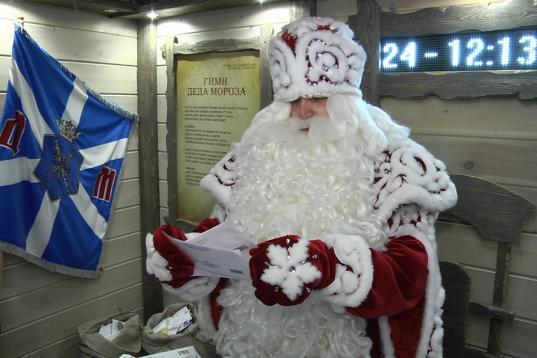 200 тысяч писем получил Дед Мороз из Великого Устюга в 2018 году