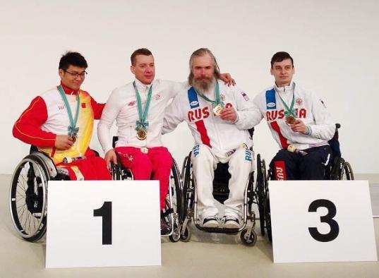 Череповчанин Александр Курзин стал бронзовым призером Кубка мира по фехтованию на колясках