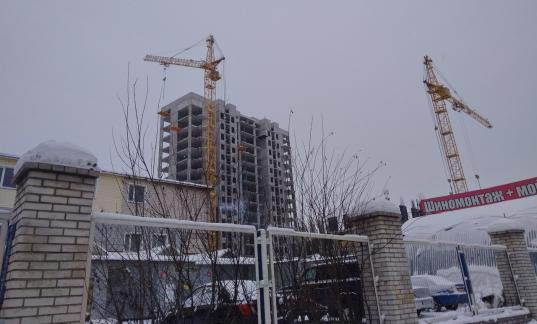 В Вологде на стройке жилого комплекса «Рафинад» погиб рабочий