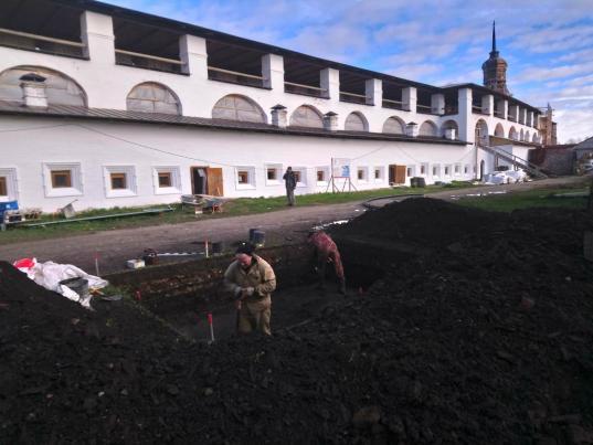 Археологи проведут раскопки в Кирилло-Белозерском монастыре