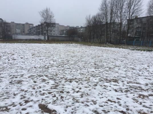 Спортплощадку возле школы №25 в Вологде обещают построить в 2019 году