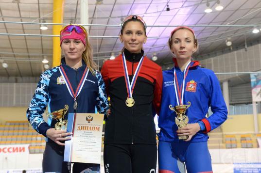 Вологжане завоевали шесть медалей на Чемпионате России по конькобежному спорту