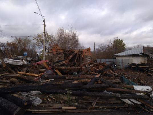 Комитет по охране памятников Вологодской области начал административное расследование по факту сноса дома купца Назарова