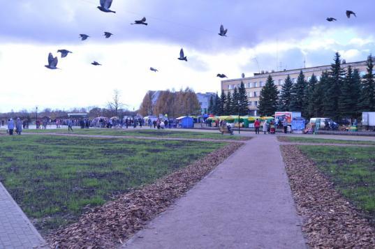 Центральную площадь Сокола открыли после капитального ремонта