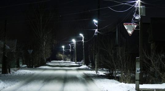 Вологодская область получила 396,3 млн рублей на уличное освещение