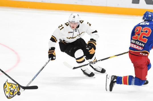 Хоккейная «Северсталь» проиграла финскому «Йокериту» со счетом 4:0