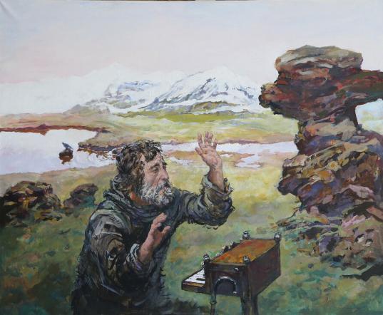 Мультимедийная выставка работ художника Михаила Копьева откроется в Вологде 16 декабря