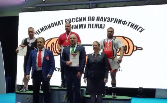 Денис Кузин из Шексны стал чемпионом России по пауэрлифтингу
